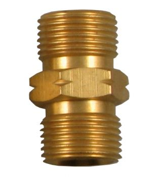 "3/8"" Male to 3/8"" Male Coupler - Left Hand"