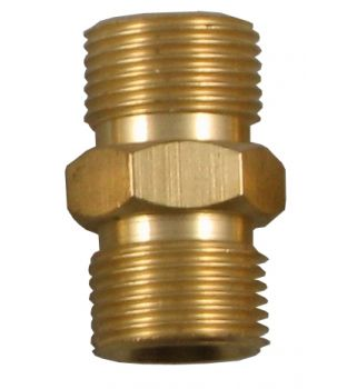 "3/8"" Male to 3/8"" Male Coupler - Right Hand"