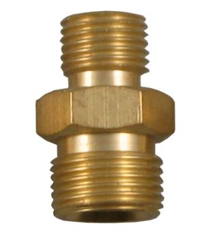 "3/8"" Male to 1/4"" Male Coupler - Right Hand"