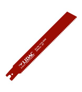 Lidac U-Shank 200mm x 8TPI Reciprocating Blades