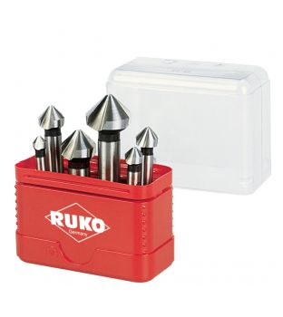 Ruko 6-piece Countersink Set - 6.3mm to 20.5mm (A102 156)