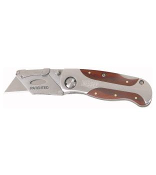Bessey DBKWH-EU Folding Utility Knife Hardwood Handle