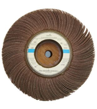 165 x 50mm x P150 Wooden Centre Flap Wheel