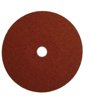 180 x 22mm x P120 Fibre Sanding Disc
