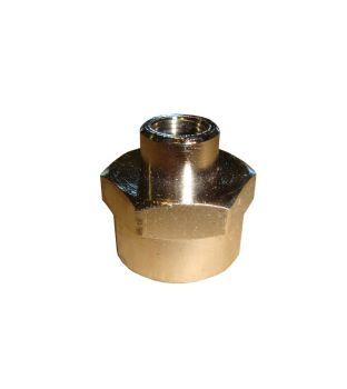 "1/2"" Female x 1/8"" Female Double Socket"