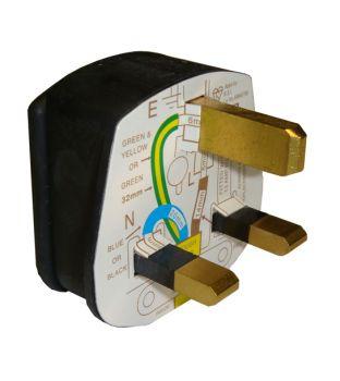 220v Plugtop - 13amp - 3 pin