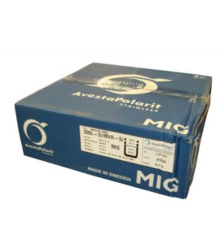 Avesta 1.0mm 308LSi/MVR-Si Stainless Steel MIG Wire - 15kg Coil