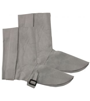 "14"" Chrome Leather Gaiters"