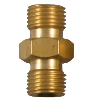 "1/4"" Male to 1/4"" Male Coupler - Right Hand"