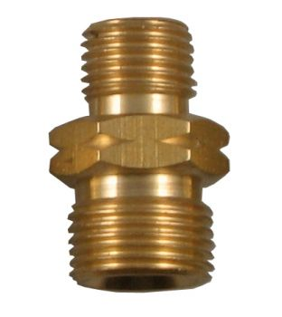 "3/8"" Male to 1/4"" Male Coupler - Left Hand"