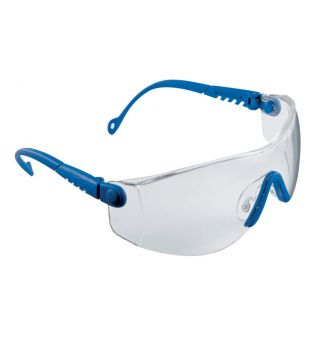 Pulsafe Optema Blue Frame Clear Safety Spec