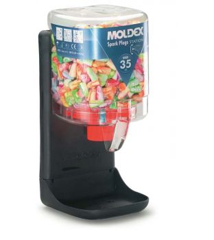 Moldex 7825 Spark Plugs Dispenser - 250 pairs (35 SNR)