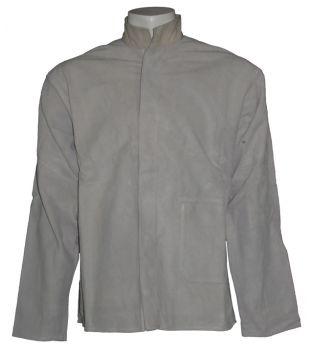 Large Chrome Leather Welding Jacket