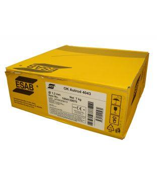 ESAB 1mm 4043 Aluminium MIG Wire - 7kg Coil