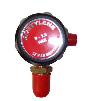 Single Stage Acetylene Regulator - Plugged