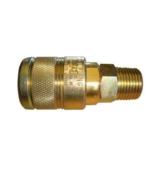 "1/2"" BSP Male 100 Series Coupling"