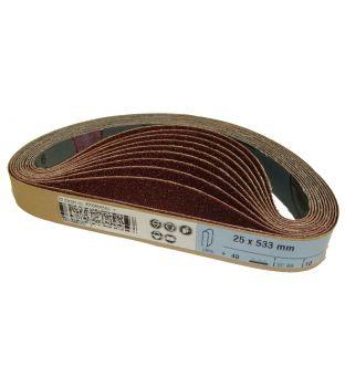 533 x 25mm x P320 Sanding Belt