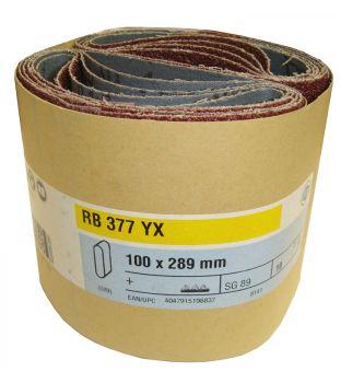 289 x 100mm x P80 Sanding Belt
