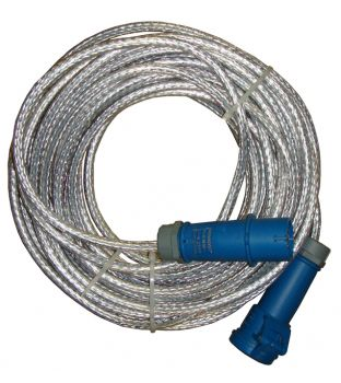 220v 16amp 25mtr Braided Extension Lead
