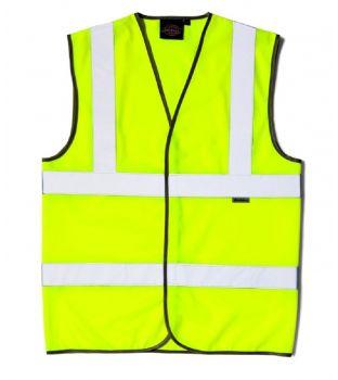 Dickies SA22010 Hi-Vis Safety Vest – XXXL