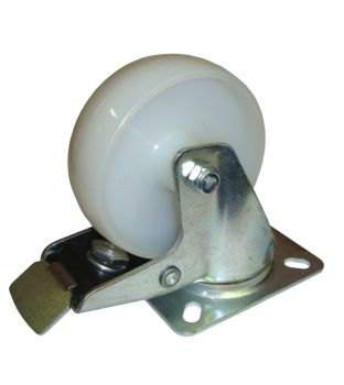 100mm Swivel-Brake Nylon Castor