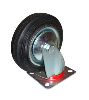 125mm Swivel Rubber Castor