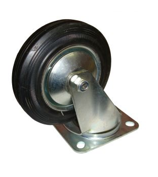 150mm Swivel Rubber Castor
