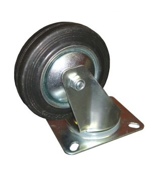 100mm Swivel Rubber Castor