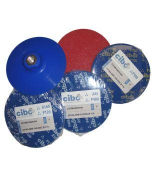 Finit-Easy 115mm Trizact Disc Graining Kit