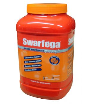 Deb 4.5 litre Swarfega Orange with Hamd Pump
