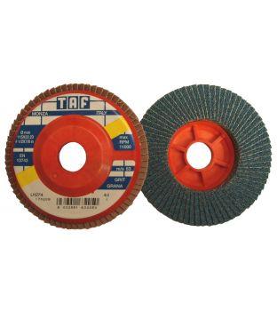 TAF 115 x 22mm x P120 Zirconium Flap Disc