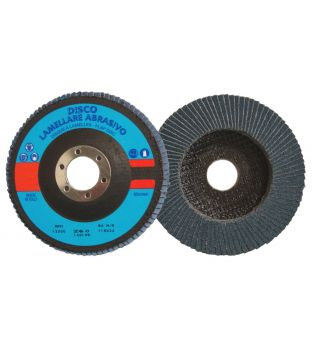 Bibielle 115 x 22mm x P120 Zirconium Flap Disc