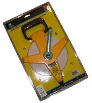 Dargan 50mtr Open Case Fibre Measuring Tape