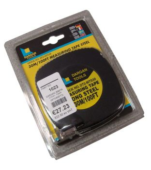 Dargan 30mtr Steel Measuring Tape