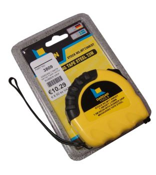 Dargan 7.5mtr Measuring Tape with Rubber Grip