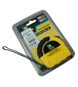 Dargan 5mtr Measuring Tape with Rubber Grip