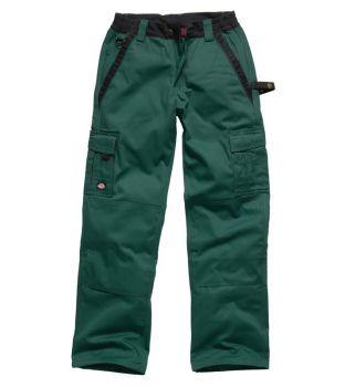 """Dickies 36"""" IN30030 Grey Industry Trousers (34"""" Leg)"""