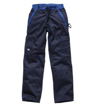 """Dickies 28"""" IN30030 Navy Industry Trousers (32"""" Leg)"""