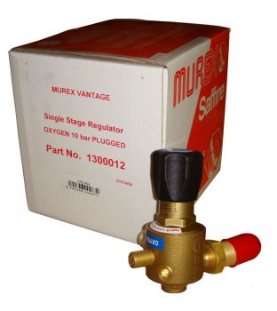 Murex Single Stage Oxygen Regulator - Plugged