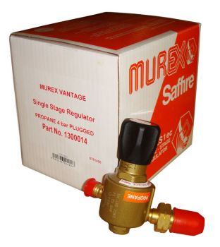 Murex Single Stage Propane Regulator - Plugged