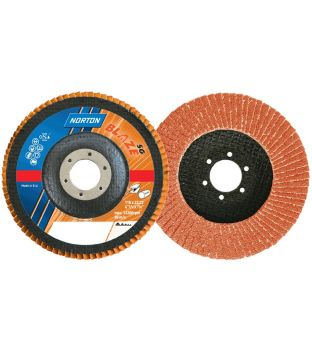 Norton R980 115 x 22mm x P40 Orange Flap Disc