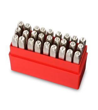Pryor 10mm Standard Letter Punch Set