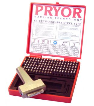 Pryor 4mm Imperial Fount Set with Holder & Case