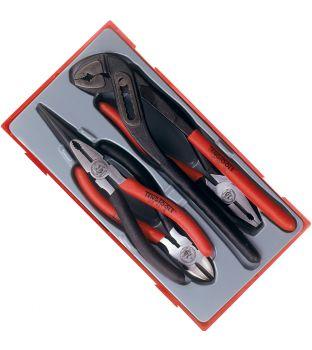 Teng Tools TT440-T Mega Bite Pliers with TPR Handles