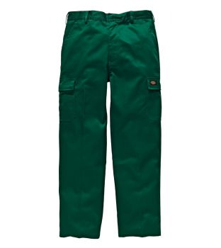 "Dickies 36"" WD803 Bottle Green Redhawk Chino Trousers (33"" Leg)"